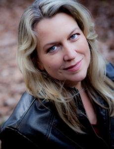a portrait of author Cheryl Strayed